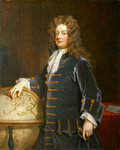 Admiral Edward Russell, 1st Earl of Orford (1653-1727) by George Gower - print