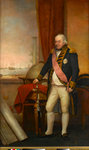 Rear-Admiral Sir John Jervis, 1st Earl of St Vincent (1735-1823) by Nathaniel Dance - print