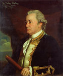 Captain Sir Walter Stirling (1718-1786) by John Francis Rigaud - print