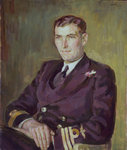 Captain Michael Torrens-Spence (1914-2001) by Thomas Luny - print