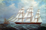 The clipper 'Ellen Rodger' by William Lionel Wyllie - print