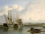 Shipping off Bristol by William Simpson - print