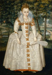 Princess Elizabeth (Elizabeth of Bohemia, The Winter Queen) by J. Browne - print