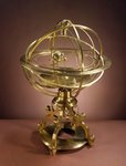 Orrery in the form of Renaissance Ptolemaic armillary sphere