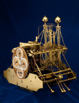 Three-quarter view of Harrison's marine timekeeper H1 by Thomas Earnshaw - print