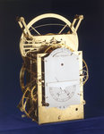 Marine timekeeper H3, back and side by Thomas Earnshaw - print