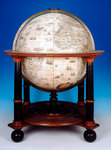 Sphere and stand by William and John Cary - print