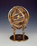 Armillary sphere by George Graham - print