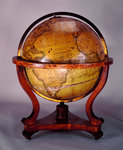 Sphere and stand by Gualterus Arsenius - print