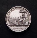 Medal commemorating the opening of the new harbour of Middelburg, 1817; obverse by unknown - print