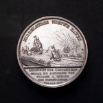 Medal commemorating the opening of the new harbour of Middelburg, 1817; reverse by unknown - print