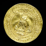 Medal commemorating the Coronation of King Edward VI, 1546; obverse by H.R. - print