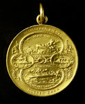 Medal commemorating the Heligoland Bight, 1914 and Dogger Bank, 1915; obverse by H.R. - print