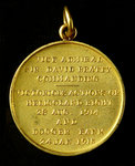 Medal commemorating the Heligoland Bight, 1914 and Dogger Bank, 1915; reverse by H.R. - print