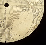 Astrolabe: detail of engraving by unknown - print