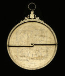 Astrolabe: mounted obverse without rete by Adrian Descroli - print