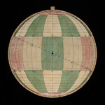 Astrolabe: plate with rojas projection by Nicolas Bion - print