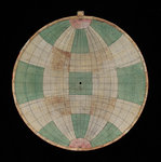 Astrolabe: plate with frisius projection by Nicolas Bion - print