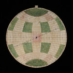 Astrolabe: plate with dela hire projection by Nicolas Bion - print