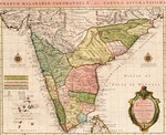 Chart of the Indian Ocean by Anonymous - print