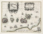 Chart of the Moluccas, Indonesia by James Wyld - print