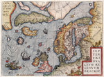 Map of Europe by Ortelius, 16th century by British Admiralty - print
