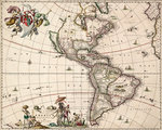 Chart of the Americas by James Wyld - print