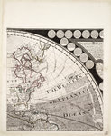 A new and correct map of the world (section) by Sayer & Bennett - print