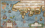 Chart of the English Channel by James Wyld - print