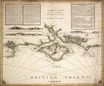 English Channel by British Admiralty - print