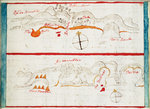 Chart of Santiago Astata and Bahia Ventosa by British Admiralty - print