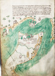 Chart of Kos and Bodrum by Bartolommeo dalli Sonetti - print