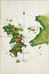 Khios and adjacent mainland by Bartolommeo dalli Sonetti - print