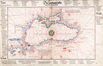 Chart of Black Sea by Battista Agnese - print