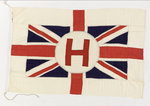 House flag, Houston Line Ltd by unknown - print