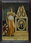 Britannia lamenting the death of Admiral Lord Nelson' by unknown - print