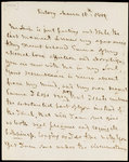 Letter from Horatio Nelson to Emma Hamilton, March 1805 by Louis Decres - print