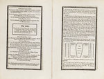Complete order of ceremony of the funeral procession of Lord Nelson, 8 and 9 Jan 1806 by Louis Decres - print