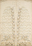 Embroidered panel for a waistcoat by unknown - print