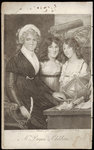 Mrs. Bryan and her Children by John Francis Rigaud - print