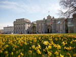 Exterior of the National Maritime Museum, Greenwich in spring 2007