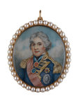 Rear-Admiral Sir Horatio Nelson (1758-1805) by unknown - print