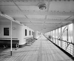 Promenade Deck on the 'Balmoral Castle' (1910) by unknown - print
