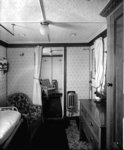 First Class suite de luxe on the 'Highland Loch' (1911) by unknown - print