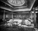 First Class Lounge on the 'Orama' (1911) by unknown - print