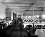 Second Class Dining Saloon on the 'Orama' (1911) by unknown - print