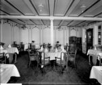 First Class Nursery Dining Saloon on the 'Orduna' (1914) by Bedford Lemere & Co. - print