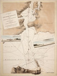 A chart of New York Harbour with the soundings views of land marks and nautical directions for the use of pilotage. Composed from surveys and observations of Lieutenants John Knight John Hunter of the Navy and others. by British Admiralty - print