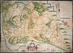 Chart of Romney Marsh by Nicholas Comberford - print