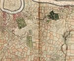 Map of Deptford, Greenwich, Woolwich, Blackheath and Eltham by Henry Wise - print
